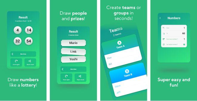 Sorteo Fácil app para hacer sorteos