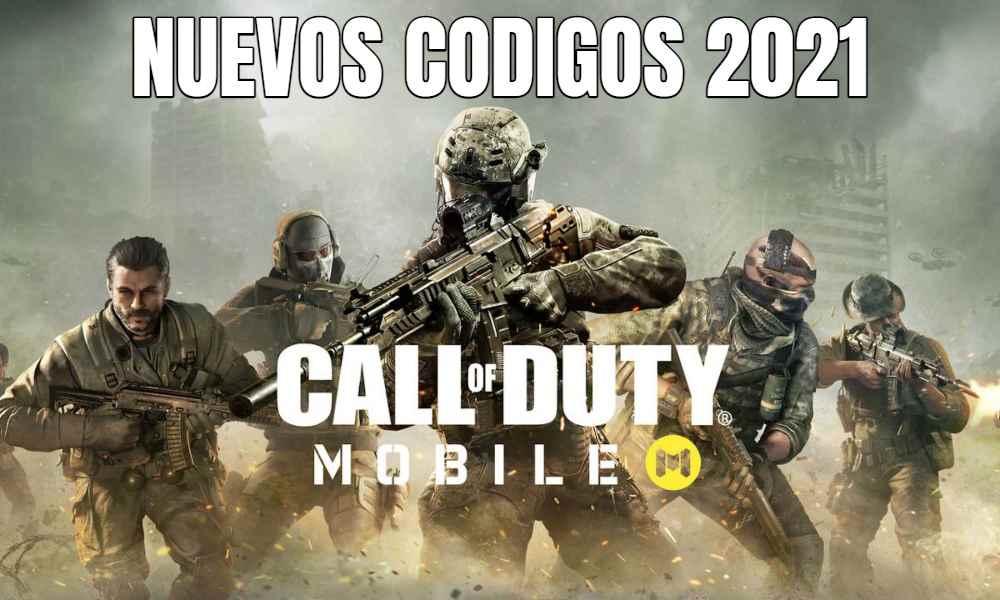 Códigos Call of Duty Mobile 2021