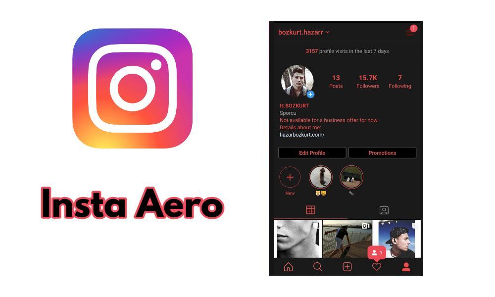 Insta Aero App